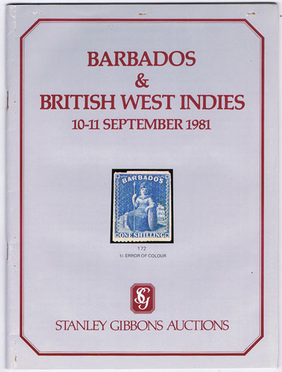 1981 (10-11 Sep) Barbados and British West Indies.
