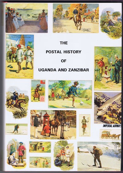 PROUD Edward B. Postal history of Uganda and Zanzibar. - (Postal History of British Colonies)