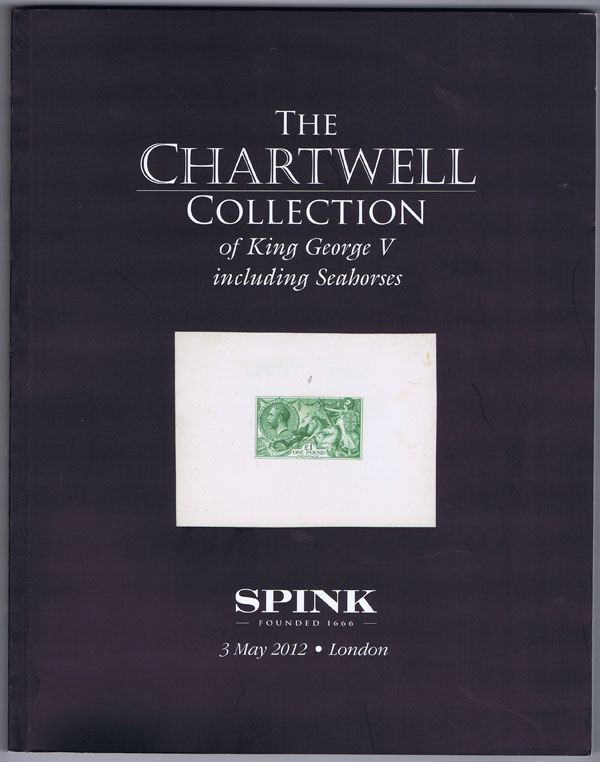 2012 (3 May) Chartwell collection of King George V including Seahorses. - Vol 6.