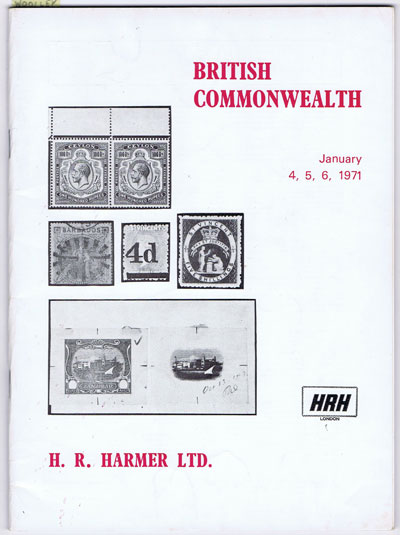 1971 (4-6 Jan) British Commonwealth.