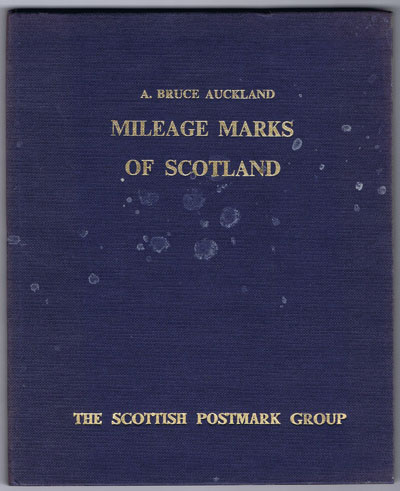 AUCKLAND A.B. Mileage Marks of Scotland.