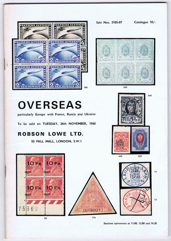 1968 (26 Nov) Overseas