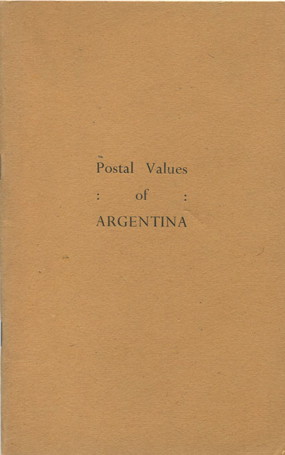 ANON Postal Values of Argentina.