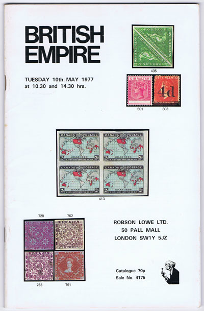 1977 (10 May) British Empire.