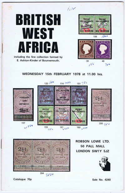 1978 (15 Feb) British West Africa.