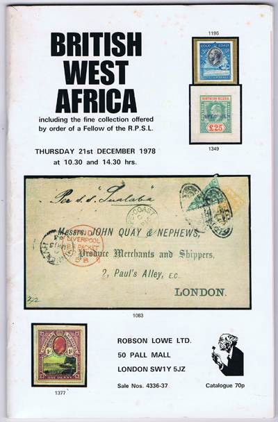 1978 (21 Dec) British West Africa.
