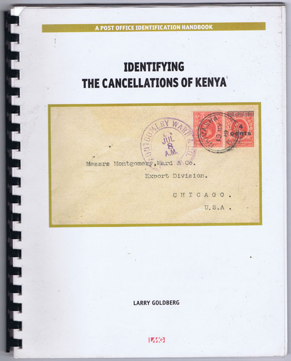 GOLDBERG Larry Identifying the cancellations of Kenya.