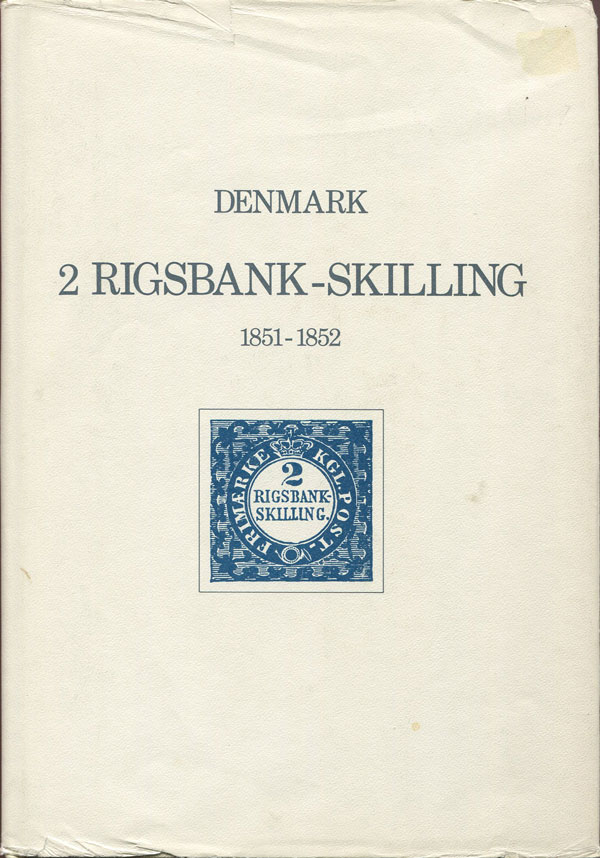 CHRISTENSEN Sten Denmark 2 Rigsbank-Skilling 1851-1852. - Postal history and philately.