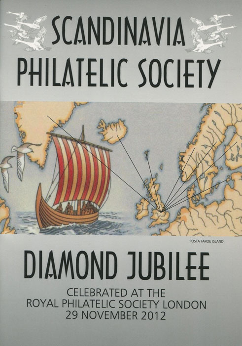 ANON Scandinavia philatelic society Diamond Jubilee.