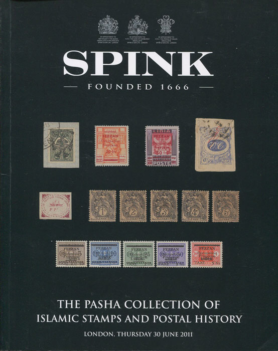 2011 (30 Jun) The Pasha collection of Islamic stamps and postal history.