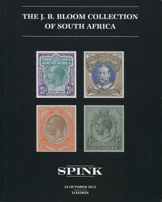 2013 (24 Oct) The J.B. Bloom collection of South Africa.