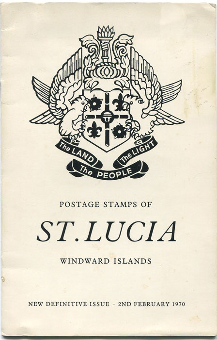 JESSE Rev. Charles Postage Stamps of St Lucia, Windward Islands. - New Definitive issue. 2nd February 1970.