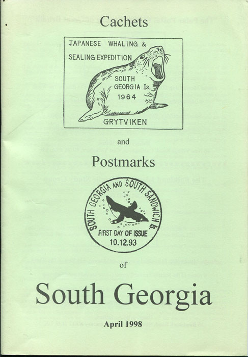 YOULE John H. Cachets and Postmarks of South Georgia.