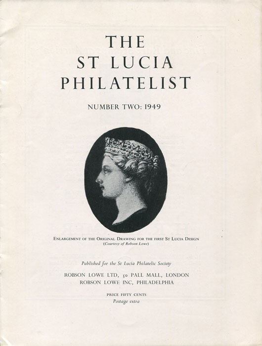 ANON The St Lucia Philatelist. - Number Two