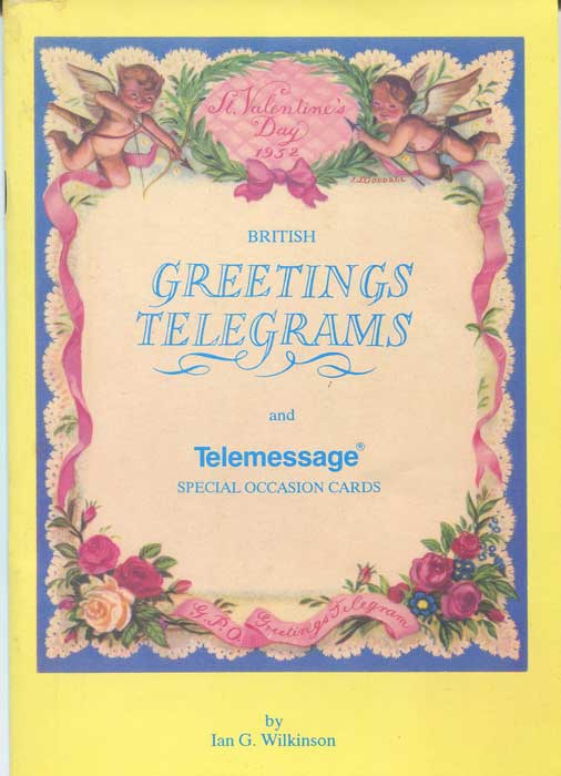 WILKINSON Ian G. British Greetings Telegrams and Telemessage special occasion cards.