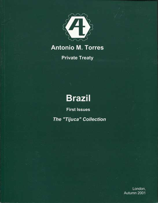 2001 Brazil First Issues. The Tijuca Collection.