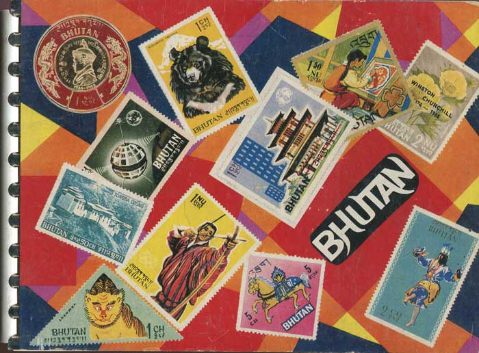 ANON Bhutan through Postage Stamps