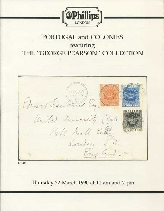 1990 (22 Mar) Portugal and Colonies featuring the George Pearson collection.