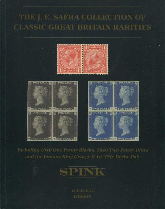 2014 (15 May) J.E. Safra collection of classic Great Britain rarities