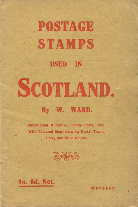 WARD W. Postage stamps used in Scotland.