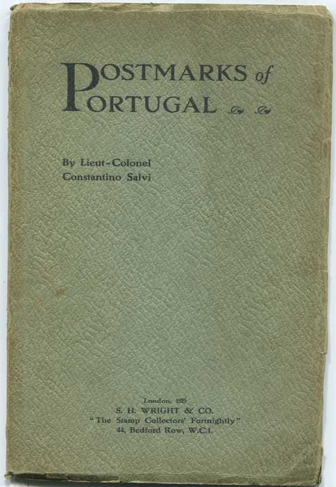 SALVI Constantion Postmarks of Portugal.
