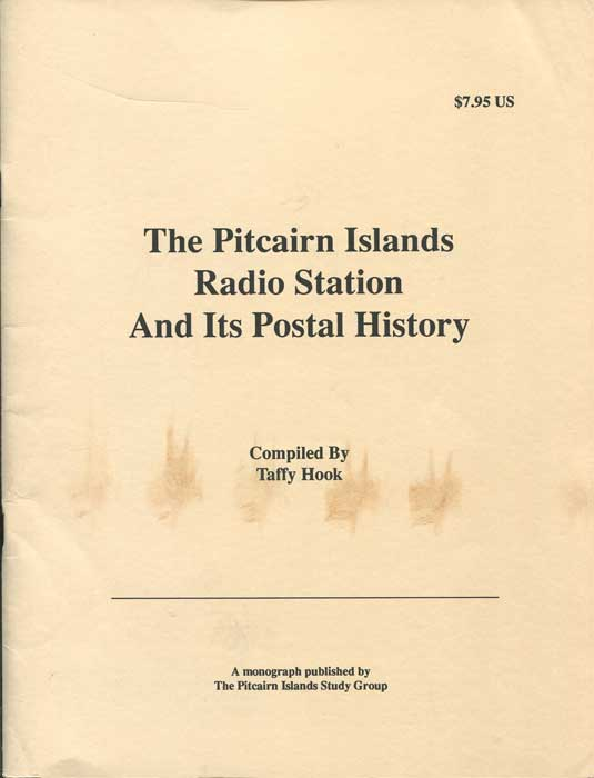 HOOK Taffy The Pitcairn Islands Radio Station and its postal history.