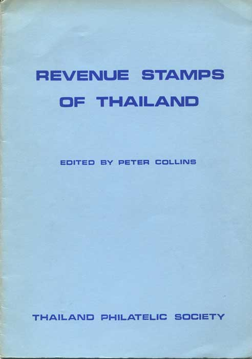 COLLINS Peter Revenue Stamps of Thailand