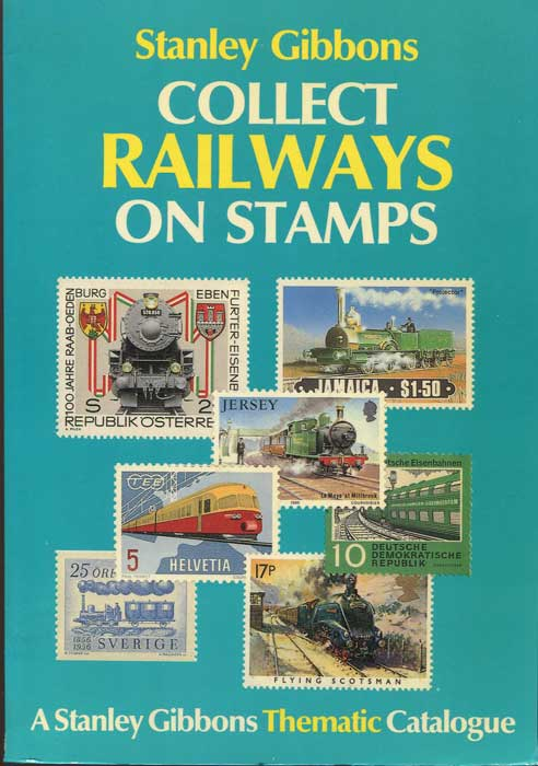 BURKHALTER Howard Collect Railways on stamps.
