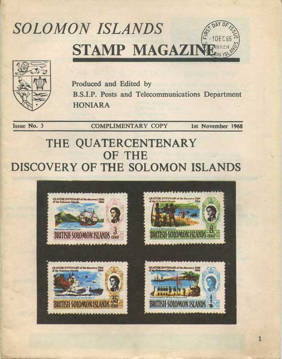 SOLOMON ISLANDS Stamp Magazine issues 2 - 5