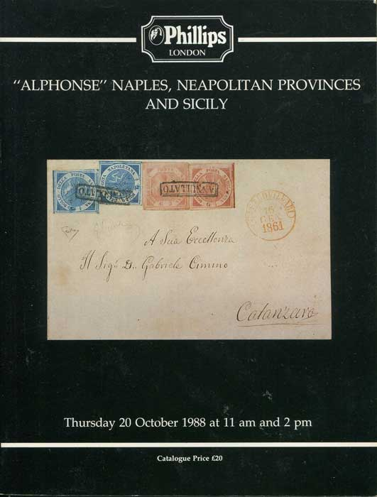1988 (20 Oct) Alphonse Naples, Neapolitan Provinces and Sicily