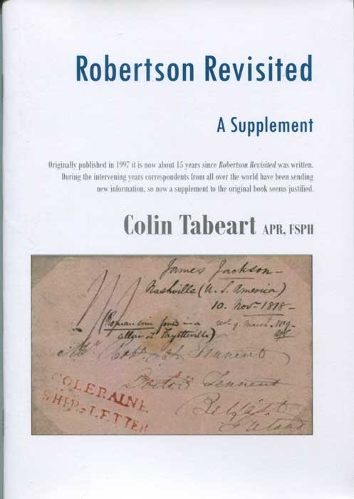 TABEART Colin Robertson Revisited: A Supplement