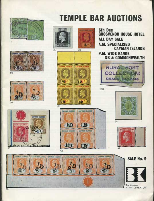 1973 (6 Dec) specialised Cayman Islands