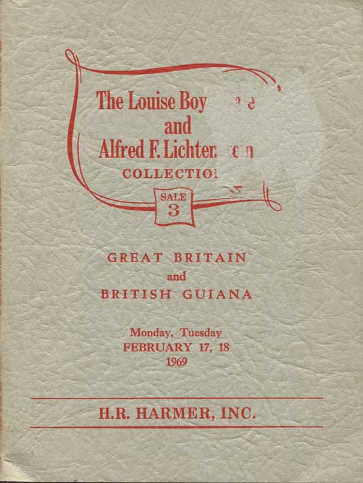 1969 (17-18 Feb) Louise Boyd Dale and Alfred F. Lichtenstein Great Britain and British Guiana