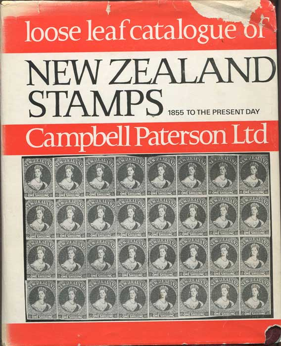 PATERSON Campbell Handbook - Catalogue of New Zealand Stamps