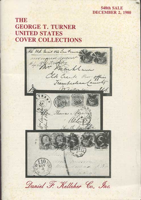 1980 (2 Dec) George T. Turner United States cover collections