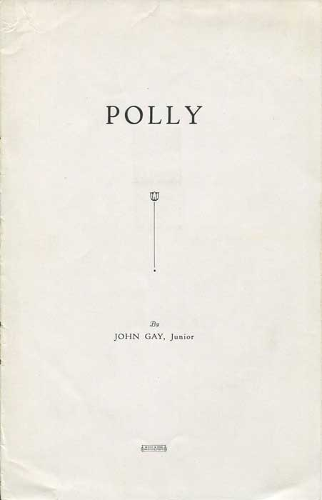 HIGLETT G.A. Polly by John Gay Junior