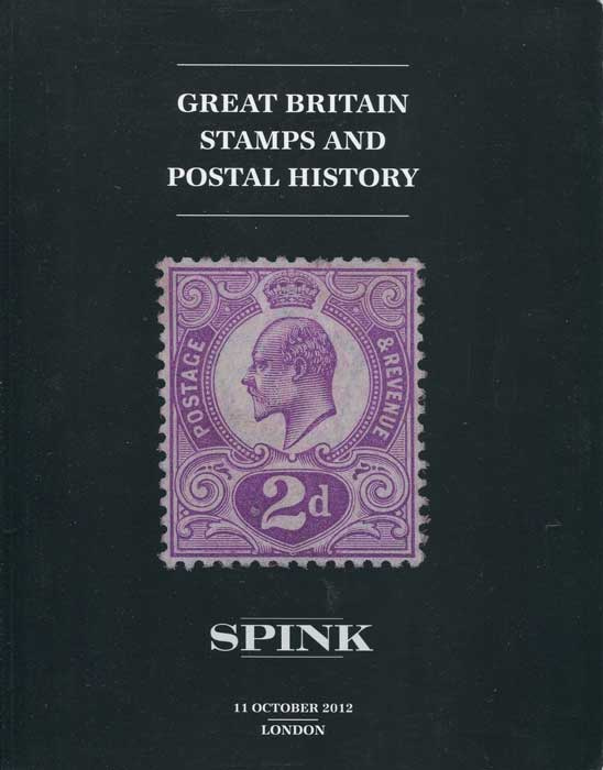 2012 (11 Oct) Great Britain stamps and postal history