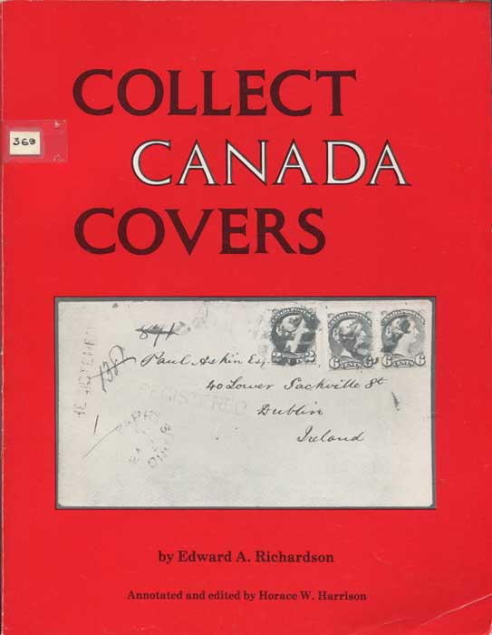 RICHARDSON Edward A. Collect Canada Covers