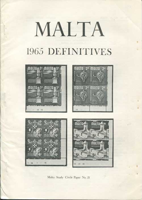 MALTA Malta 1965 Definitives