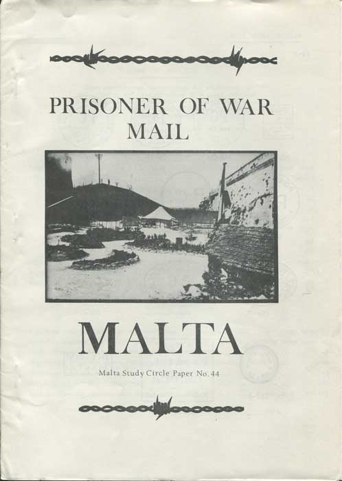 MALTA Malta Prisoner of War Mail