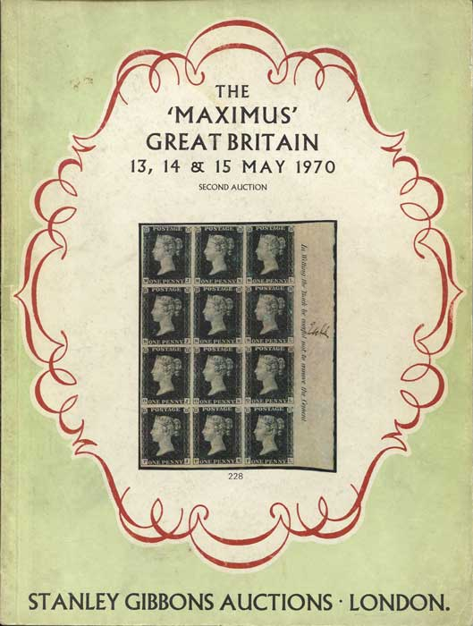 1970 (13-15 May) The Maximus Great Britain collection.