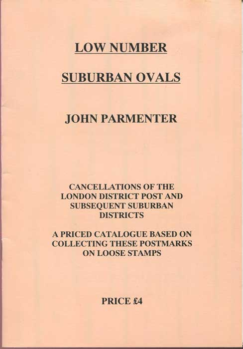 PARMENTER John Low Number Suburban Ovals