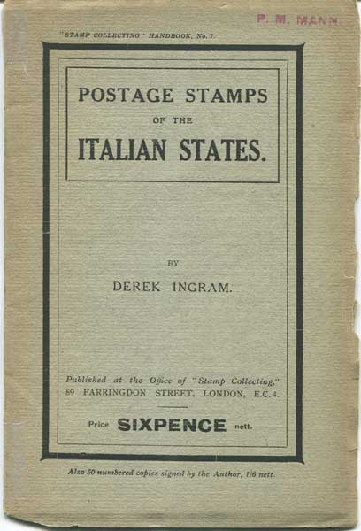 INGRAM Derek Postage Stamps of the Italian States