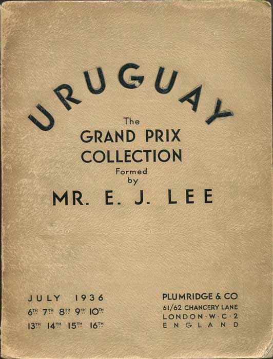 1936 (6-16 July) Uruguay - The E J Lee Grand Prix Collection