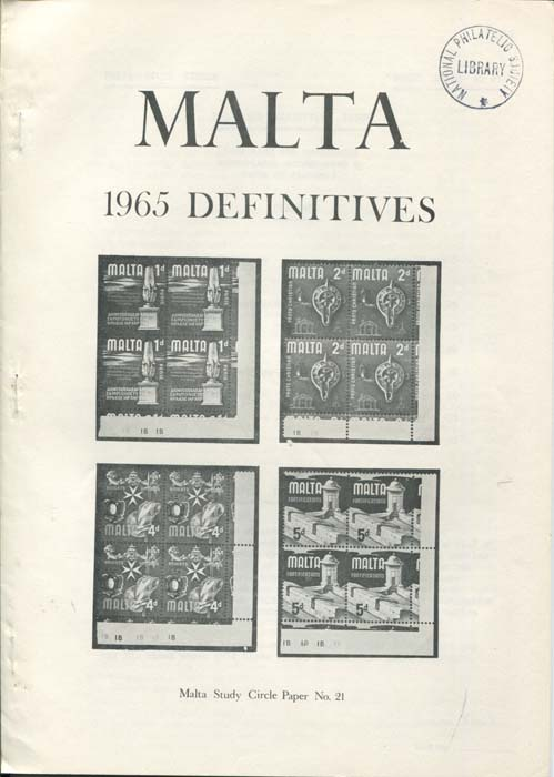 MALTA 1965 Definitives