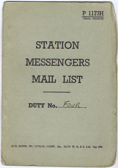 ANON Station Messengers Mail List.