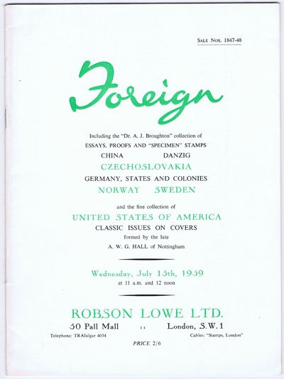 1959 (15 July) Foreign.