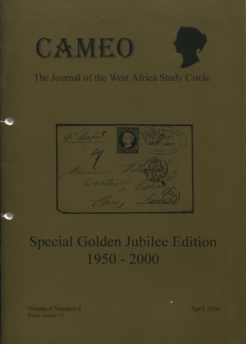 WALTON Frank (Ed.) Cameo. Special Golden Jubilee Edition. 1950-2000.