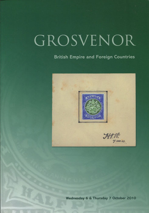 2010 (7 Oct) British Empire and Foreign Countries.